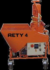 Штукатурная станция Rety 4